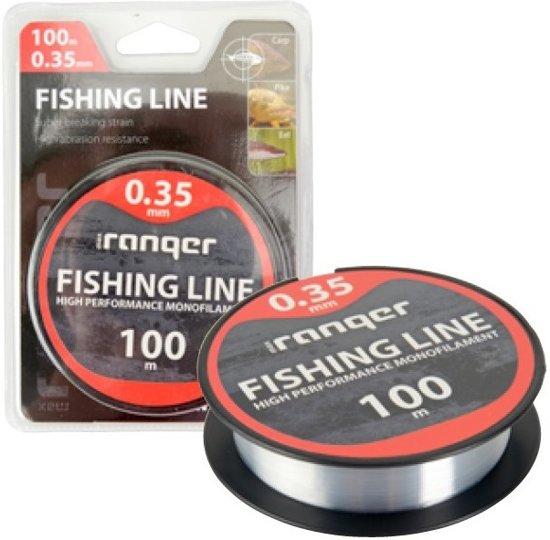 vislijn - vislijn helder - visdraad - nylon - 0.35mm