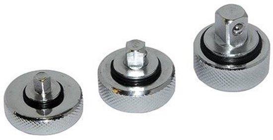 Silverline 3-delige handratel set 1/4, 3/8 en 1/2