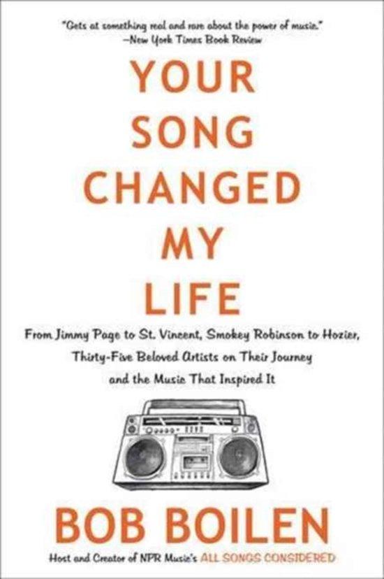 Boek cover Your Song Changed My Life van Bob Boilen (Paperback)
