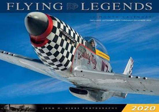 Boek cover CAL 20 FLYING LEGENDS van Editors Of Rock Point (Onbekend)