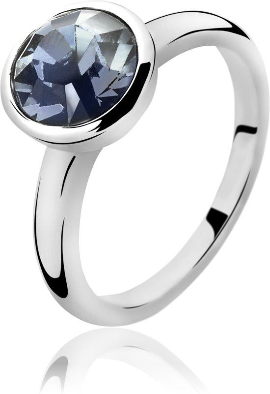 Zinzi zir1006b54 - zilveren ring Swarovski crystals