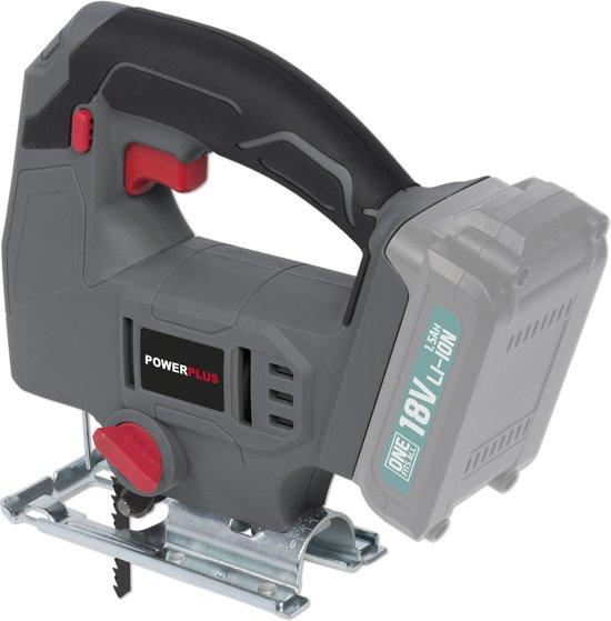 Powerplus One Fits All POWEBSET25 Decoupeerzaag - starterspakket (incl. 18V accu en oplader)
