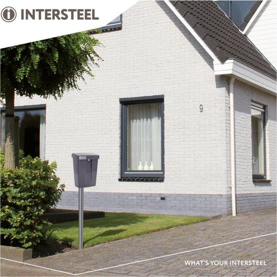 Intersteel Summus Brievenbus - Grijs