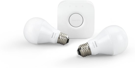 Bol Com Philips Hue Led Lamp E27 Set Van 2