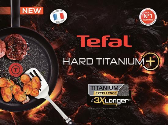Tefal Hard Titanium Hapjespan 24 cm