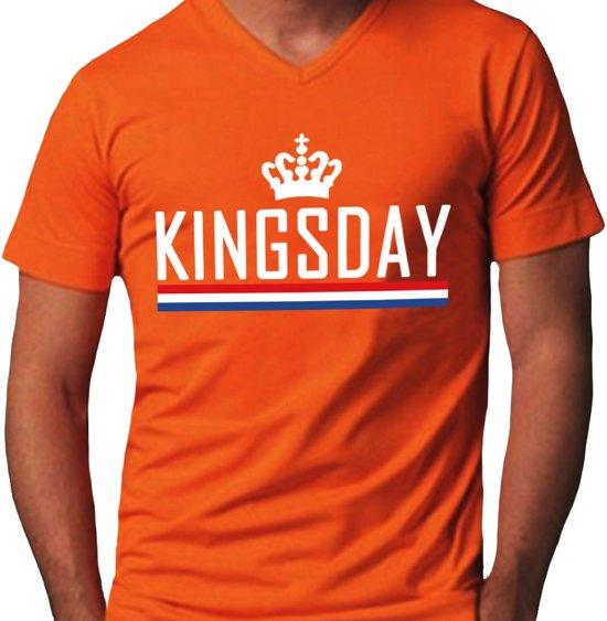 2a6487d06c75ad bol.com   Koningsdag Heren T-Shirt oranje maat S, De Jungskes ...