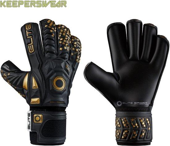 Elite Black Real  - Maat handschoen 10