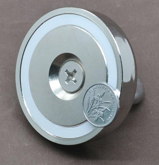 Vismagneet - 50 kg - Starterspakket - Magneetvissen - Vismagneet neodymium - Onderwater vissen - Magneet vissen - Metaal detector magneet - Hagelverwijderaar - Metaal vissen - Zoekmagneet - Zoeken - Exclusief touw