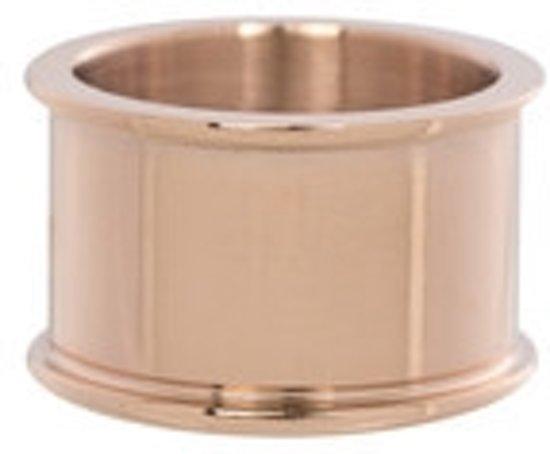 IXXXI Basisring roségoudkleurig 12mm - maat 20,5