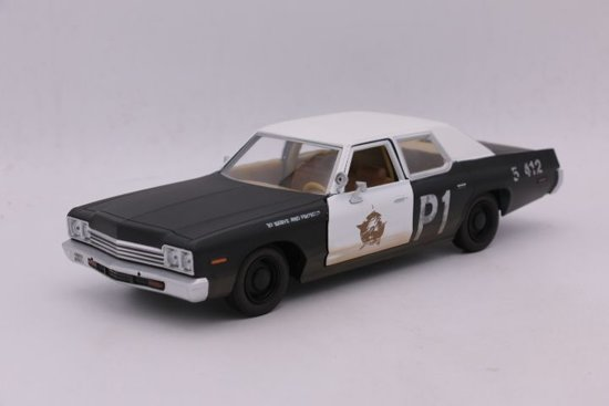 Dodge Monaco 1974 Bluesmobile The Blues Brothers 1:24 Greenlight