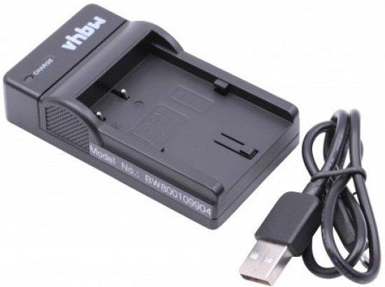 VHBW Acculader compatibel met o.a. Canon BP-511 en BP-522 accu's