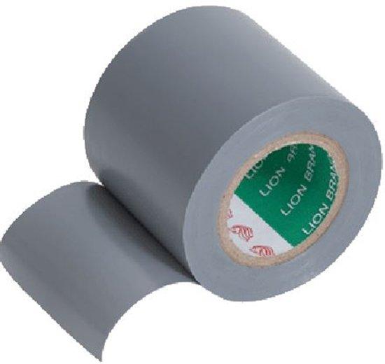 Isolatietape pvc grijs 50mmx20mtr