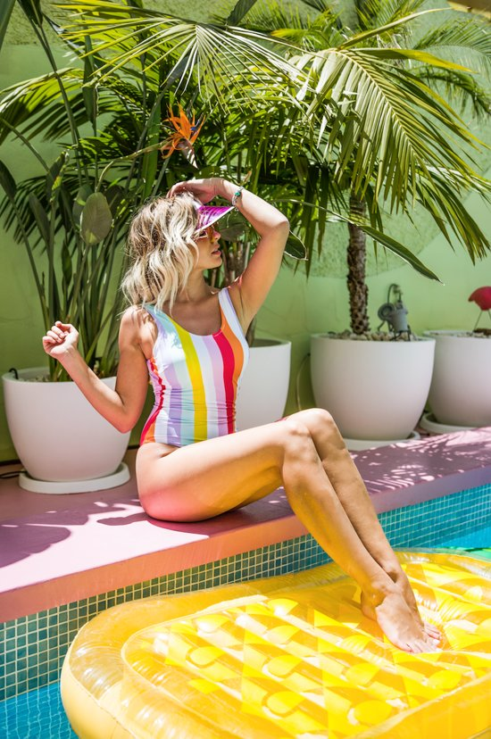 Swim Essentials Luxe Ananas Luchtbed