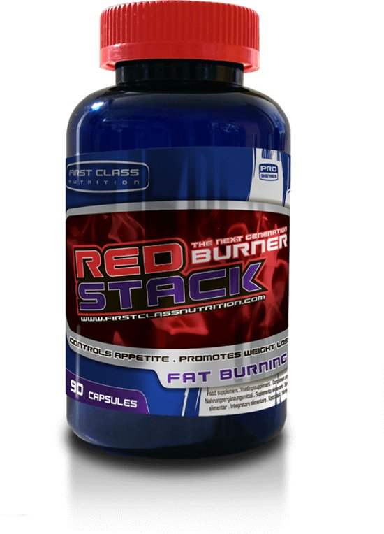 Red Stack Fatburner Extreme - weight management -90 caps
