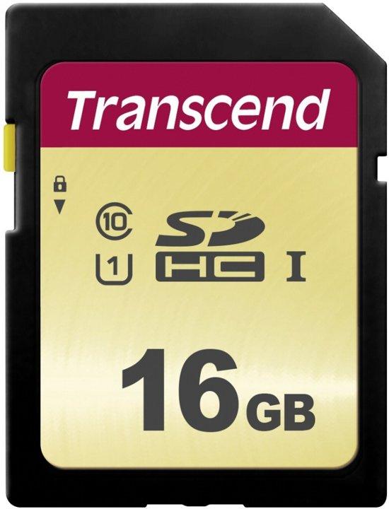 Transcend 500S SDHC - 16GB