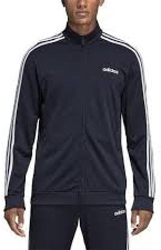 Adidas 3 Stripes vest heren grijszwart