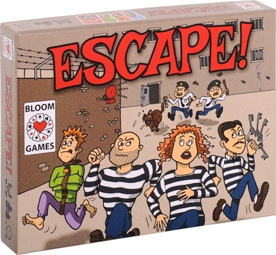 Escape! Kaartspel - gebaseerd op Pesten