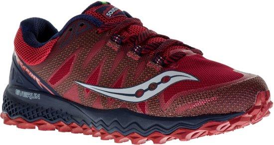 ec3563e28da Saucony Peregrine 7 trailrunningschoenen Heren Hardloopschoenen - Maat 44.5  - Mannen - rood/blauw