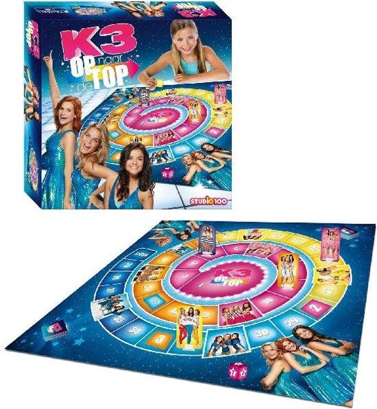 Afbeelding van het spel Studio 100 Dobbelspel K3 Op Naar De Top