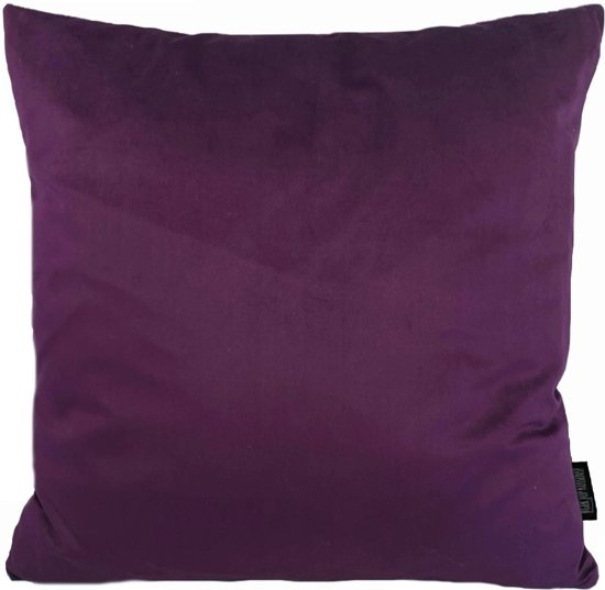 Velvet Purple Kussenhoes | Fluweel - Polyester | 45 x 45 cm | Paars