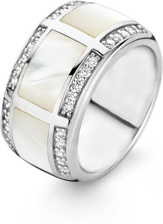 TI SENTO Milano Ring 1346MW - Maat 60 (19 mm) - Gerhodineerd Sterling Zilver