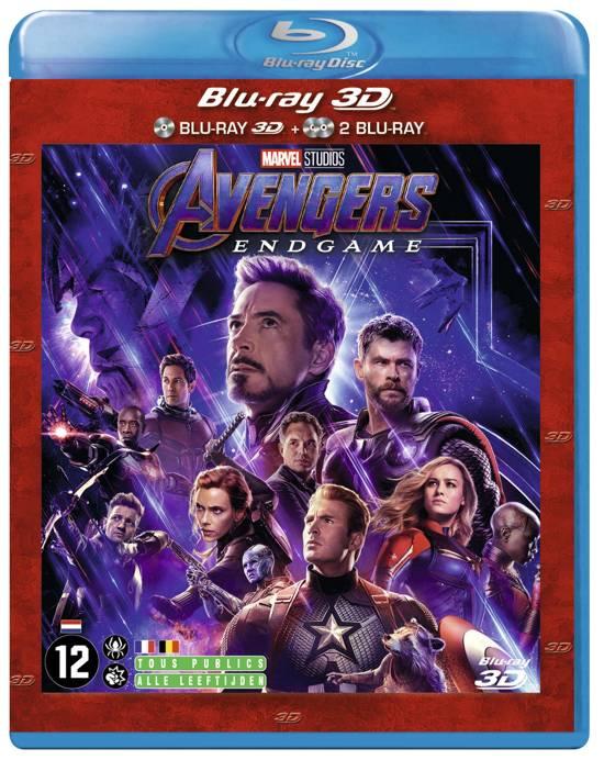 DVD cover van Avengers: Endgame (3D Blu-ray)