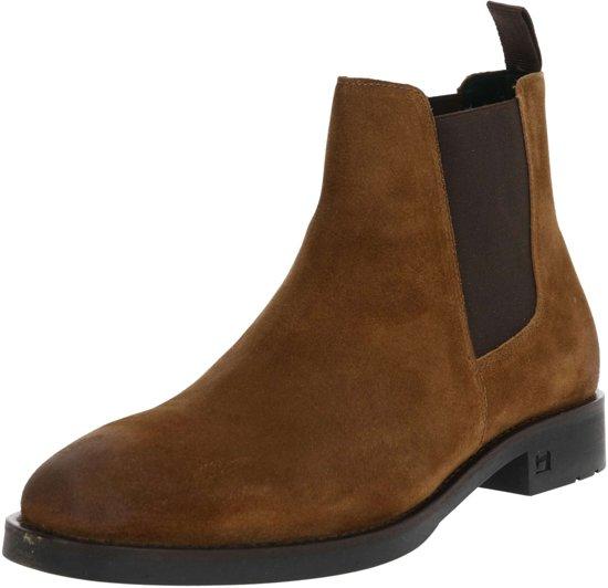 SCOTCH & SODA Heren Chelsea Boots Picaro - Cognac - Maat 45
