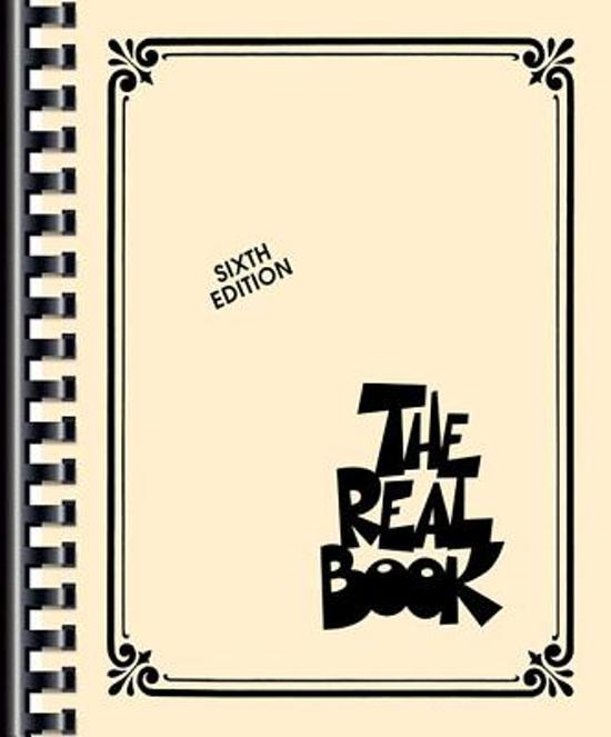 Boek cover The Real Book van Hal Leonard Corp. (Onbekend)