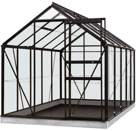 ACD serre 'Intro Grow Lily' gehard glas & aluminium zwart 6,2 m²