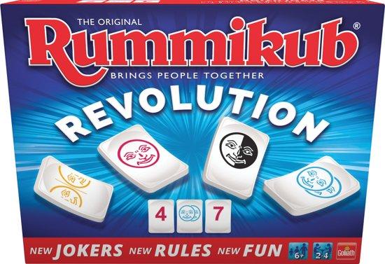 Rummikub - Revolution - Familiespel - Goliath