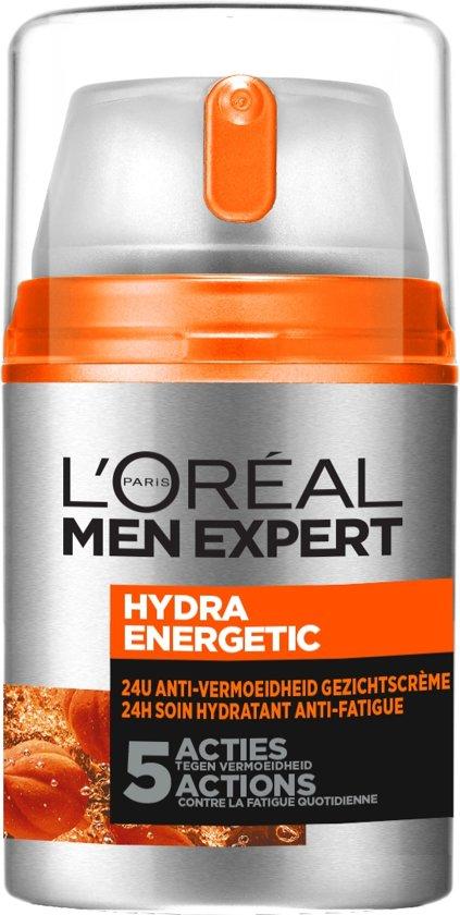 L'Oréal Men Expert Hydra Energetic 24h Hydraterende Gezichtscrème - 50ml