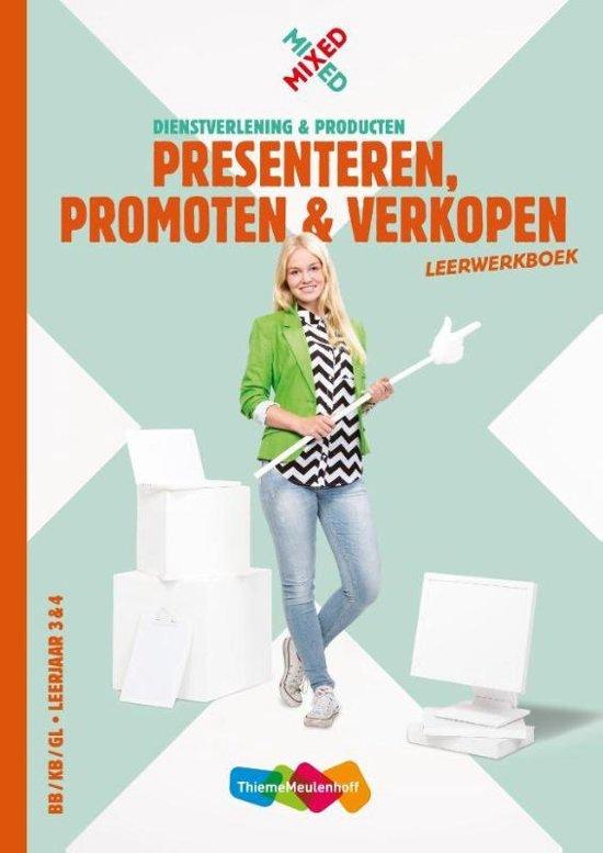 Mixed Presenteren promoten en verkopen vmbo Leerwerkboek