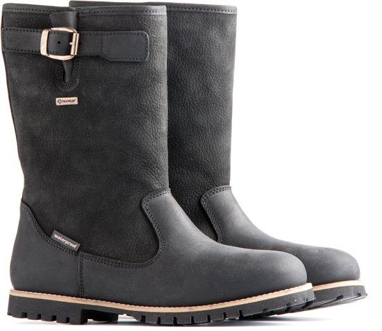 Hamar Boots invernali e unisex pelle Travelin foderato scarpe nera Outdoor in impermeabile zMqSpVU