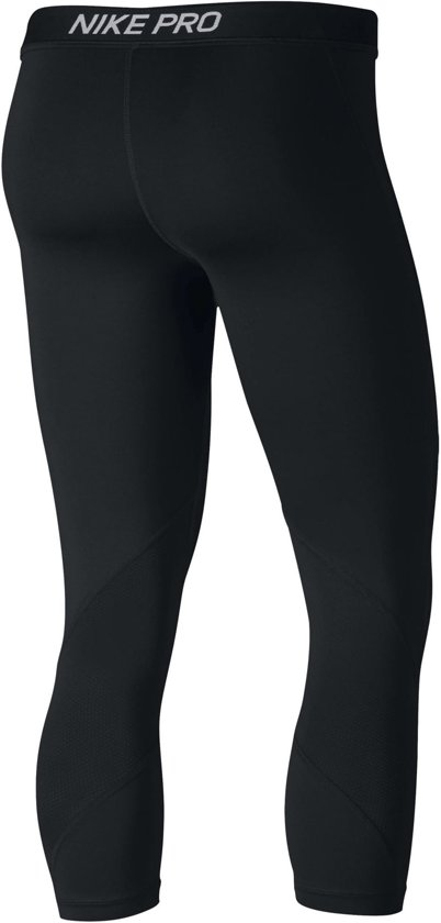 Capri Sportlegging.Bol Com Nike Pro Capri Sportlegging Dames Black Black White