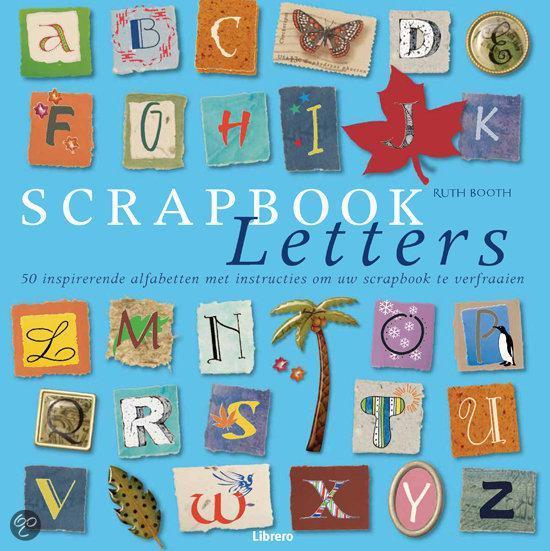 Scrapbook Letters