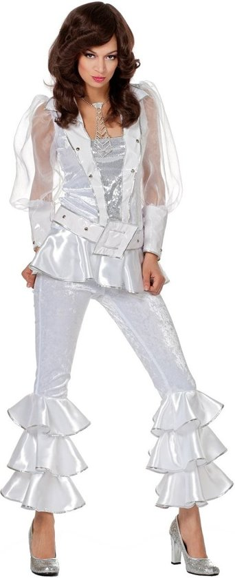 Beroemd bol.com | Mamma Mia luxe Abba outfit wit Maat 36, Wilbers Karnaval &EB88