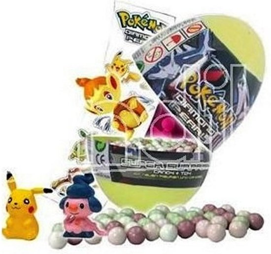 Set van 4 stuks Pokemon verrassingsei kopen