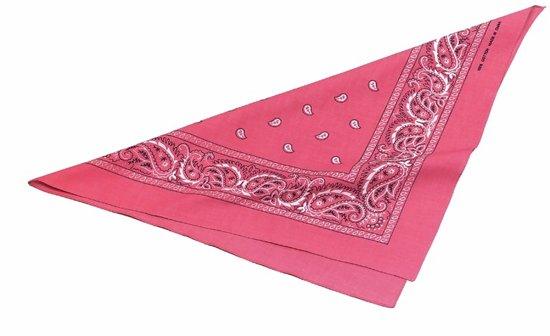 Roze zakdoek