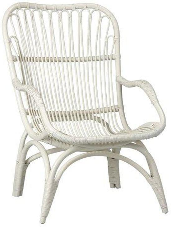 Rotan Fauteuil Wit.Bol Com Woonexpress Fauteuil Mook Wit