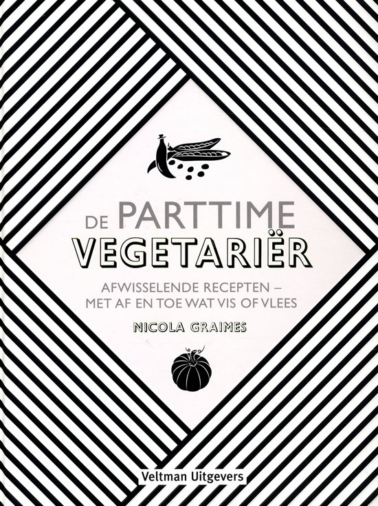 Boek cover De parttime vegetarier van Nicola Graimes (Hardcover)