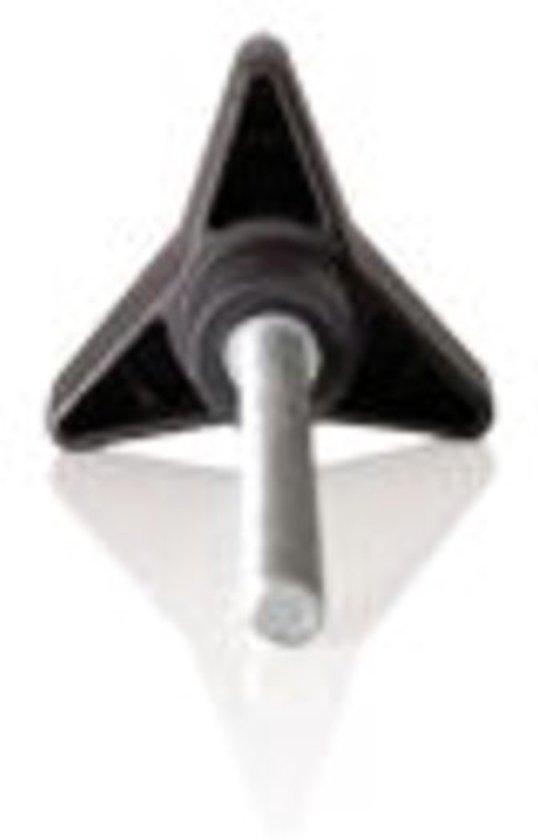 Dragerdeel spinder blister sterbout m8x90mm - ZWART
