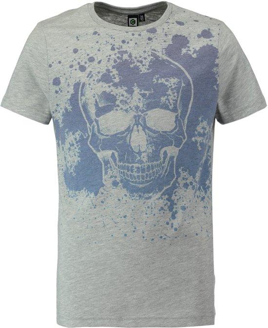 3fb85173ec5828 CoolCat Jongens T-shirt - Licht Grijs Melange - 122 128