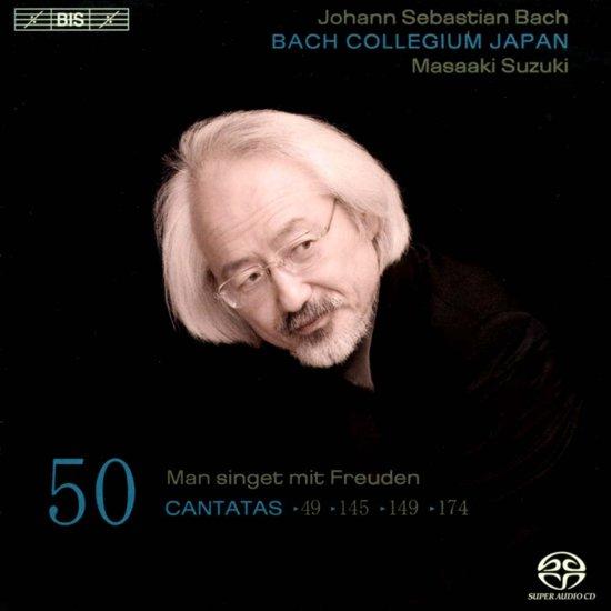 BACH - CANTATAS 50 / BACH COLLEGIUM JAPAN/ MASAAKI SUZUK kopen