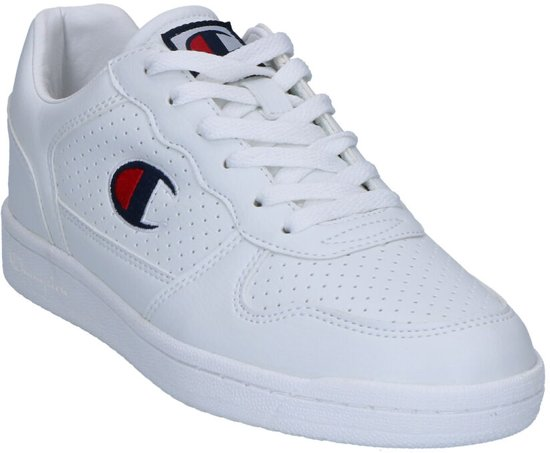 Witte Basket Chicago Sneakers Champion Low OxaRT