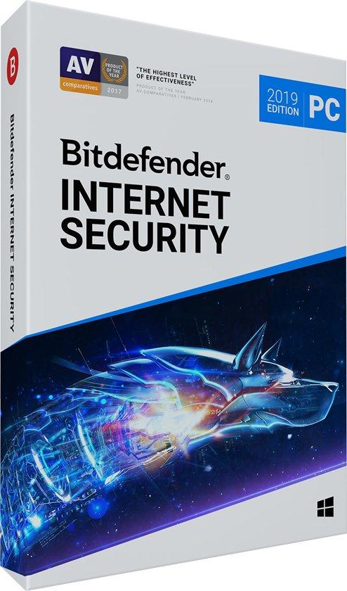 Bitdefender Internet Security 2019 - 1 Apparaat / 1 Jaar - Nederlands - Windows Download