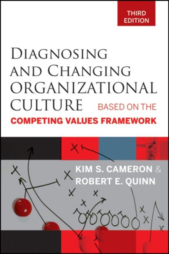 Boek cover Diagnosing and Changing Organizational Culture van Kim S. Cameron (Paperback)