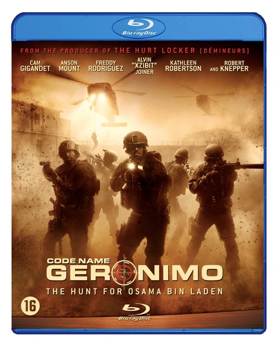 DVD cover van Code Name Geronimo (Blu-ray)