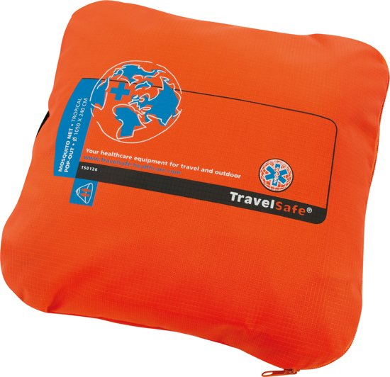 Travelsafe Mosquitonet - Pop Out - Pyramide - Tropenproof - 2 Persoons