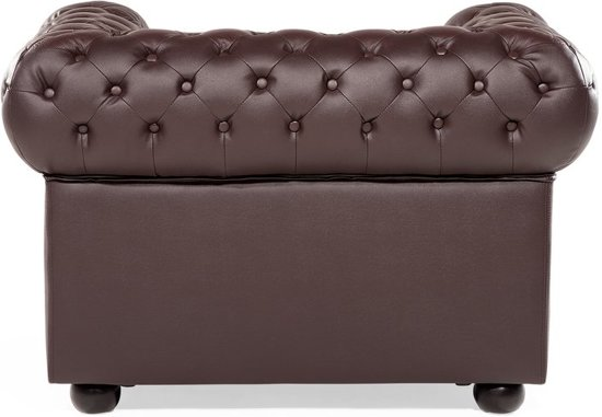 Fauteuil bruin - relaxfauteuil - CHESTERFIELD