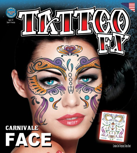 COSTUME FACE KITS - Carnivale